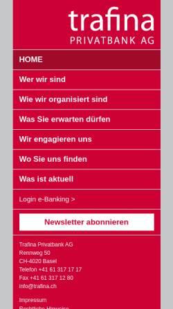Vorschau der mobilen Webseite www.adnovis.ch, Adnovis AG