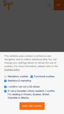 Vorschau der mobilen Webseite www.bhapartners.ch, BHA Burgauer Huser Aman & Partner