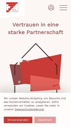 Vorschau der mobilen Webseite www.bnpartner.com, Brem Neff & Partner AG