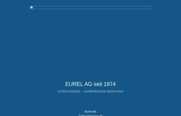 Vorschau von www.eurel-ag.ch, EUREL AG