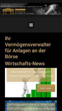 Vorschau der mobilen Webseite www.fanum.ch, Fanum Consulting AG