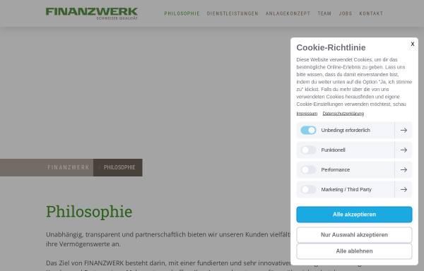 Vorschau von www.finanzwerk.ch, Finanzwerk AG
