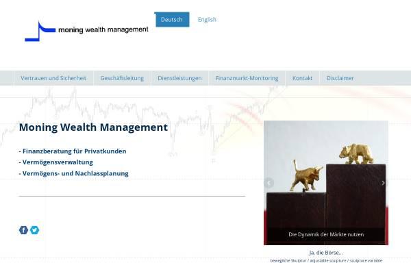 Vorschau von www.moning.ch, Moning Finanzberatung, Inh. Elisabeth Moning