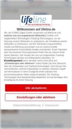 Vorschau der mobilen Webseite www.qualimedic.de, Herpes