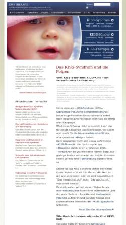 Vorschau der mobilen Webseite kiss-therapie.de, Kiss Therapie