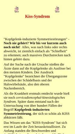 Vorschau der mobilen Webseite www.finderboerse.de, KISS-Syndrom