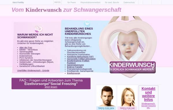 Vorschau von www.kinderwunsch-ivf.de, Kinderwunsch Informationszentrum Ottobrunn