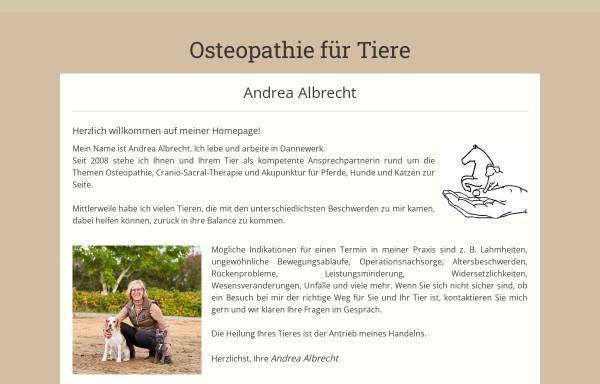 Vorschau von www.osteopathie-fuer-tiere.de, Pferde- und Hundeosteopathie