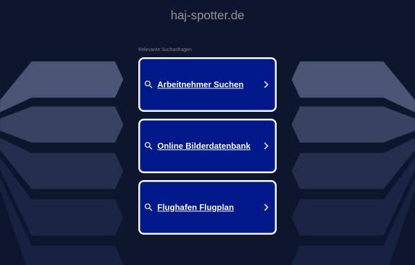 Vorschau von www.haj-spotter.de, HAJ-Spotter.de