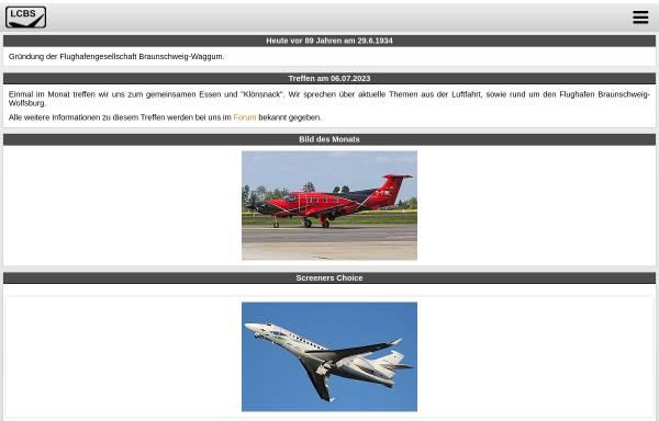 Vorschau von www.luftfahrtclubbraunschweig.de, Luftfahrt Club Braunschweig