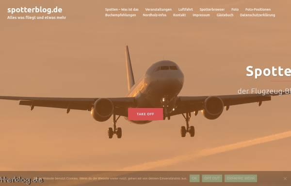 Vorschau von www.spotterblog.de, Spotterblog - Flugzeuge in Nordholz
