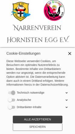 Vorschau der mobilen Webseite www.gassefegger.de, Egger Gassefegger