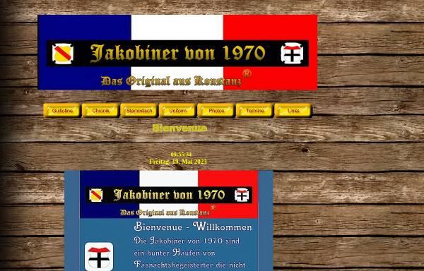 Vorschau von www.jakobinervon1970.de, Jakobiner von 1970