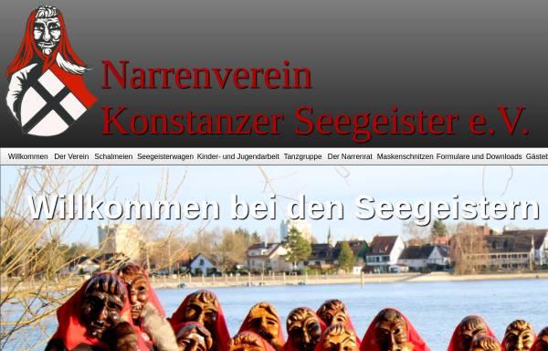 Vorschau von www.konstanzer-seegeister.de, Konstanzer Seegeister e.V.