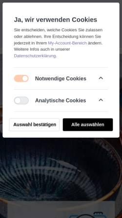 Vorschau der mobilen Webseite artandmore-shop.de, Artandmore-shop.de, Brigitte Müller