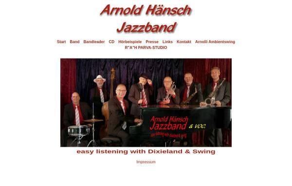 Vorschau von www.jazzmusik-potsdam.de, Arnold Hänsch Jazzband