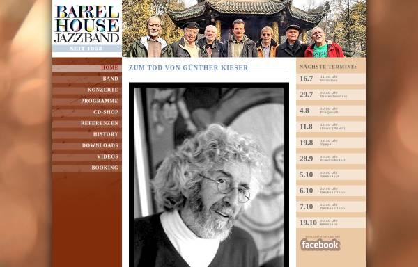 Vorschau von www.barrelhouse-jazzband.com, Barrelhouse Jazzband