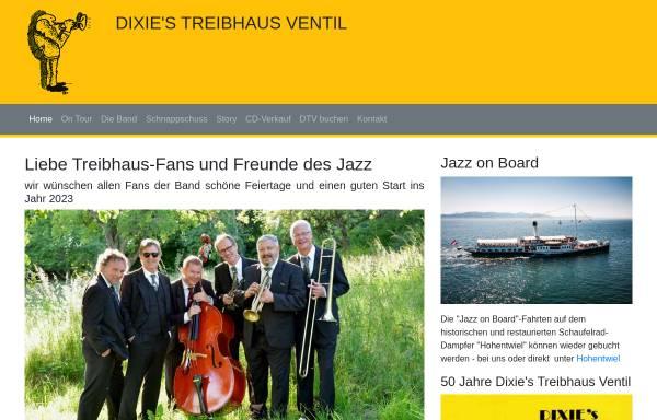 Vorschau von www.dtv-jazz.de, Dixie's Treibhaus Ventil