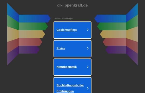 Vorschau von www.dr-lippenkraft.de, Dr. Lippenkraft