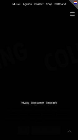 Vorschau der mobilen Webseite www.dsc.nl, Dutch Swing College Band