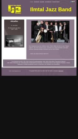 Vorschau der mobilen Webseite www.ilmtaljazzband.de, Ilmtal Jazz Band
