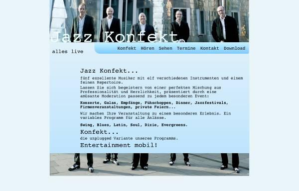 Vorschau von www.jazzkonfekt.de, Jazz Konfekt