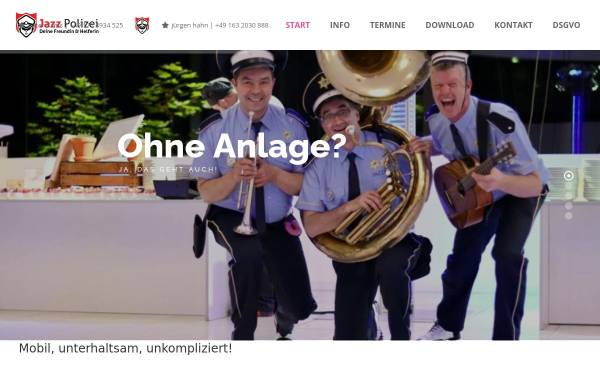 Vorschau von www.jazzpolizei.com, Jazzpolizei
