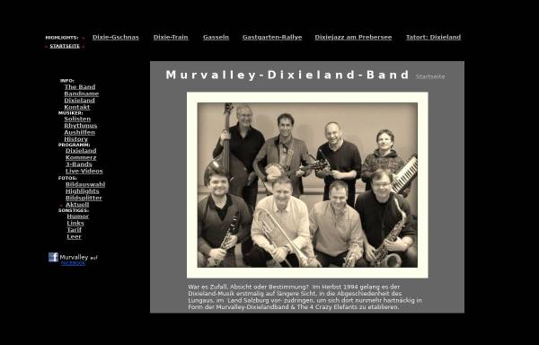 Vorschau von www.murvalley-dixieland-band.at, Murvalley-Dixieland-Band