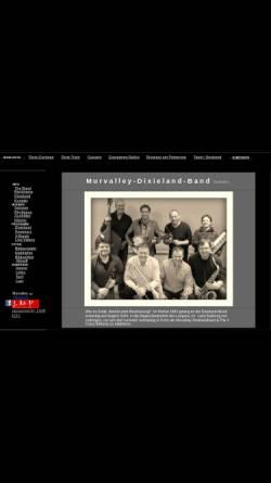 Vorschau der mobilen Webseite www.murvalley-dixieland-band.at, Murvalley-Dixieland-Band