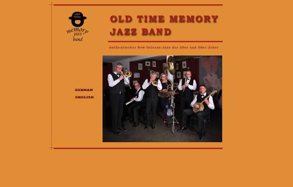 Vorschau von www.old-time-memory-jazzband.de, Old Time Memory Jazzband