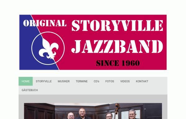 Vorschau von www.storyville.at, Original Storyville Jazzband Vienna