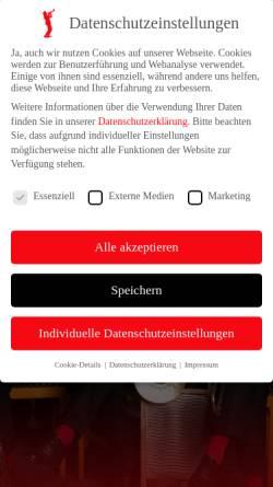 Vorschau der mobilen Webseite www.redhousehotsix.de, Redhouse Hot Six