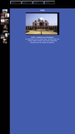Vorschau der mobilen Webseite home.datacomm.ch, India [Ingrid & Erich Mettler]