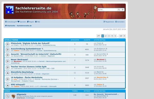 Vorschau von fachlehrerseite.de, Fachlehrerseite.de