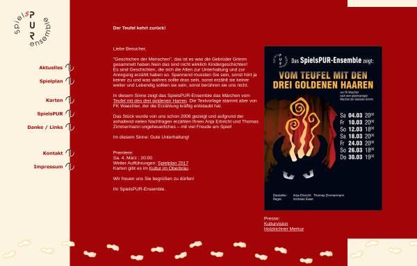Vorschau von www.spielspur.de, Holzkirchen, Theater