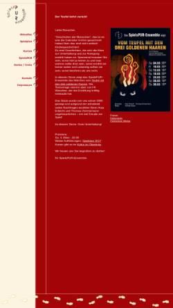 Vorschau der mobilen Webseite www.spielspur.de, Holzkirchen, Theater