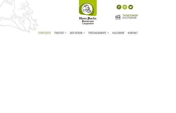 Vorschau von hans-sachs-spiele.de, Langenzenn, Hans-Sachs-Spielgruppe e.V.