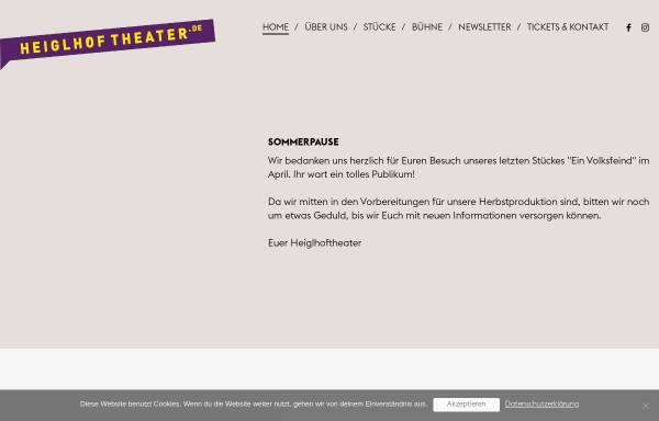 Vorschau von www.heiglhoftheater.de, München, Heiglhoftheater