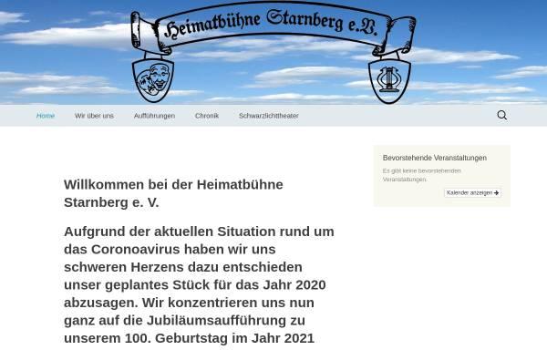 Vorschau von www.heimatbuehne-starnberg.de, Starnberg, Heimatbühne
