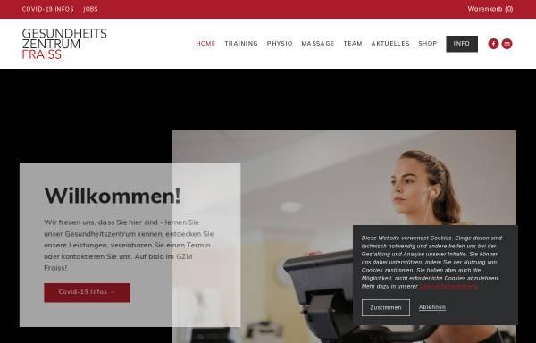 Vorschau von www.gzm.at, Institut für Physiotherapie Christian Fraiss