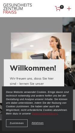 Vorschau der mobilen Webseite www.gzm.at, Institut für Physiotherapie Christian Fraiss
