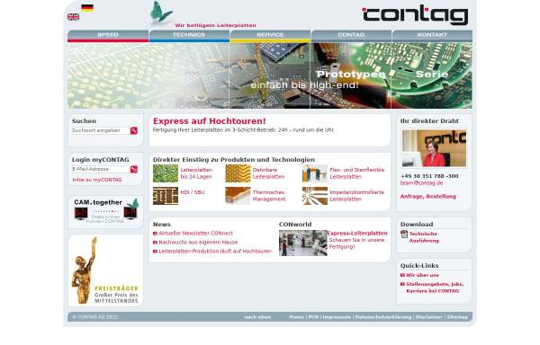 Vorschau von www.contag.de, Contag GmbH