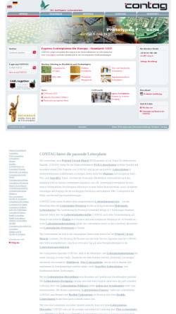 Vorschau der mobilen Webseite www.contag.de, Contag GmbH