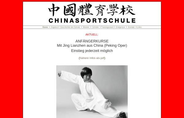 Vorschau von chinasportschule.ch, Jing Lianzhen