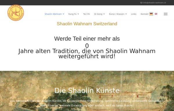 Vorschau von shaolin-wahnam.ch, Shaolin Wahnam Switzerland