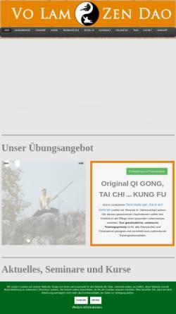 Vorschau der mobilen Webseite volam-regensburg.de, Vo Lam