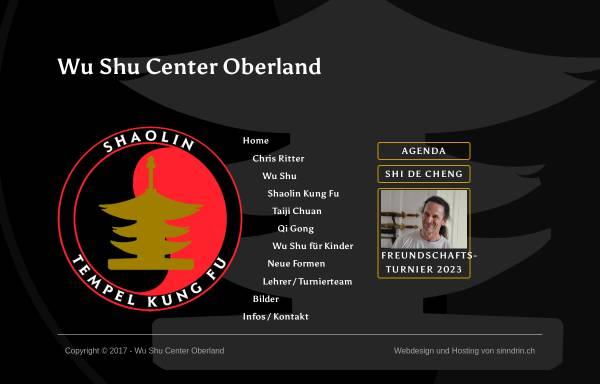 Vorschau von wu-shu.ch, Wu Shu Center Oberland