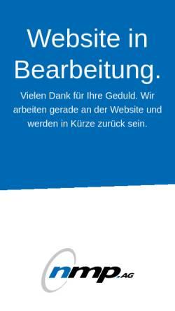 Vorschau der mobilen Webseite www.ebner-brot.de, Ebner GmbH