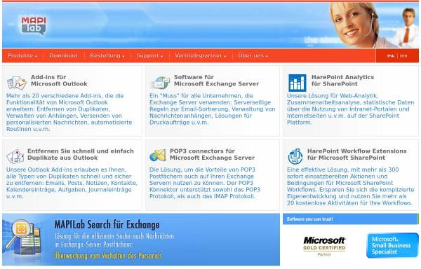 Vorschau von mapilab.com, MapiLab