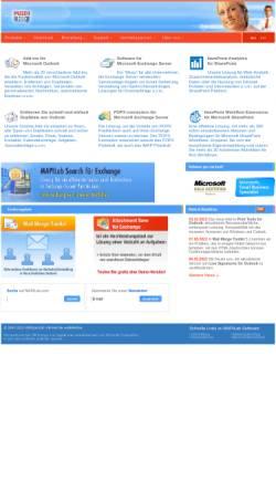 Vorschau der mobilen Webseite mapilab.com, MapiLab